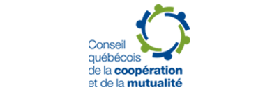 Logo du Conseil québécois de la coopération et de la mutualité