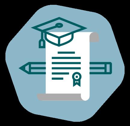 Illustration de la fonction de création d'attestations ou de certificat de formation