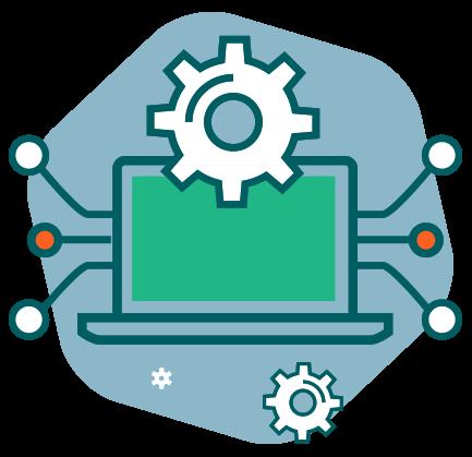 Illustration de l'interconnexion de la plateforme Lära avec d'autres logiciels.
