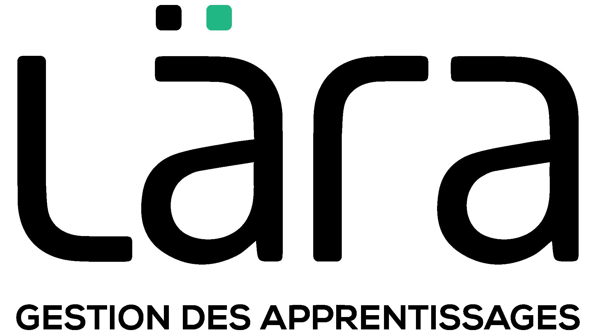Logo Lära Gestion des apprentissages noir